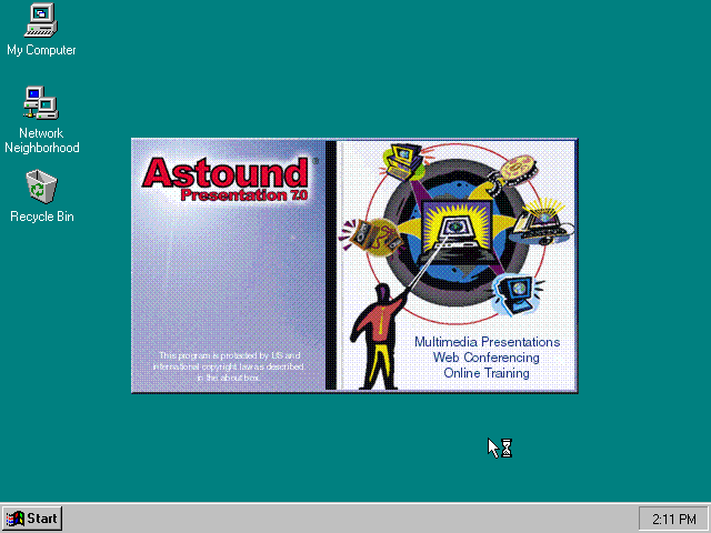 Astound Presentation 7.0 - Splash