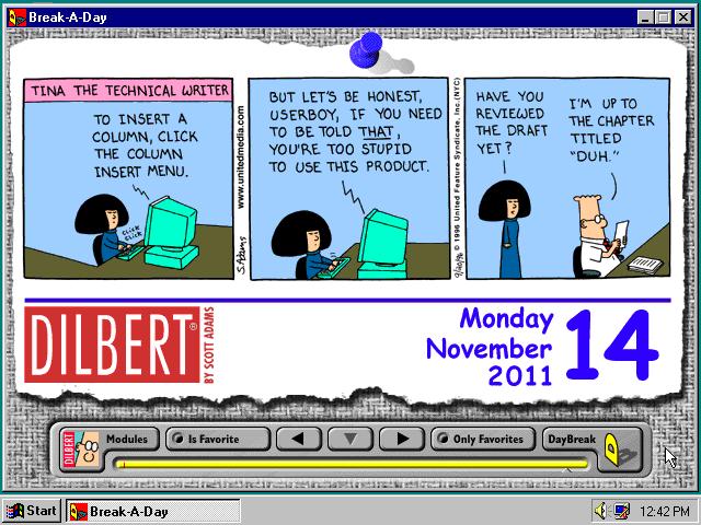 Translation Tuesday - Lunch Time - Half TRI-ing |Dilbert Break