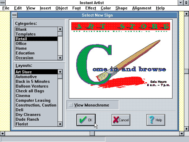 Instant artist software free download windows 7