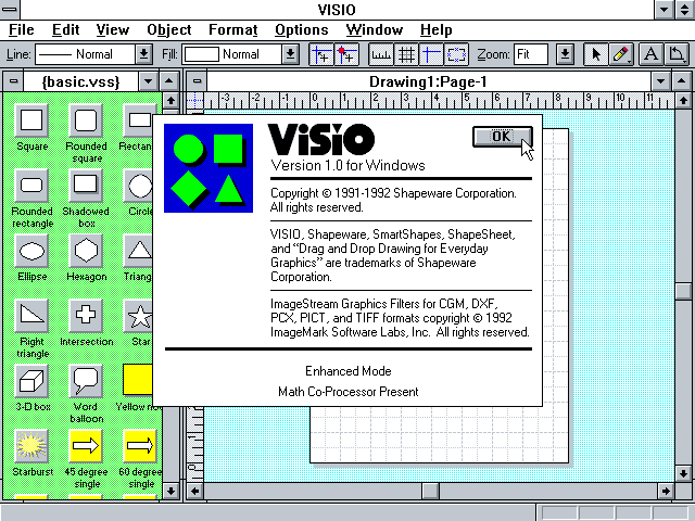 Visio 1.0 - About