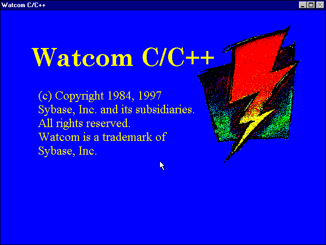 Watcom CPP 11b - Setup