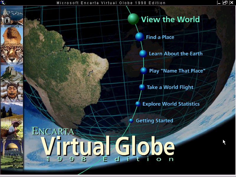 Encarta Virtual Globe 1998 Edition - Stats, Downloads and ...