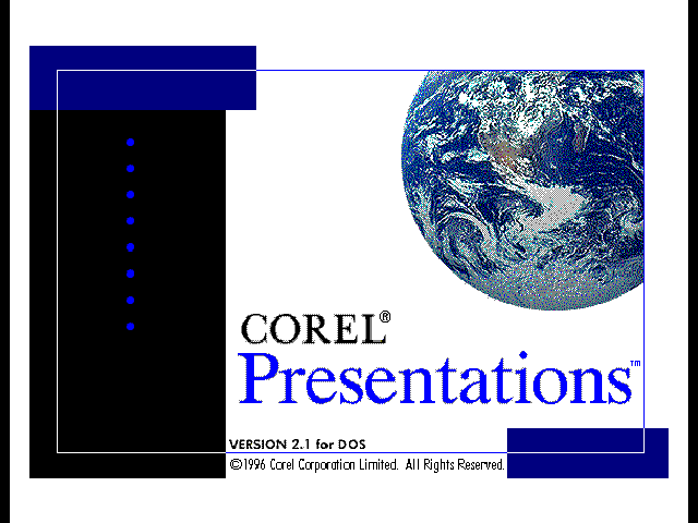 Corel Presentations - Splash