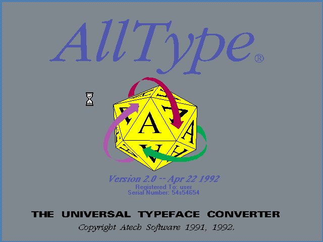 Alltype 2.0 - Splash