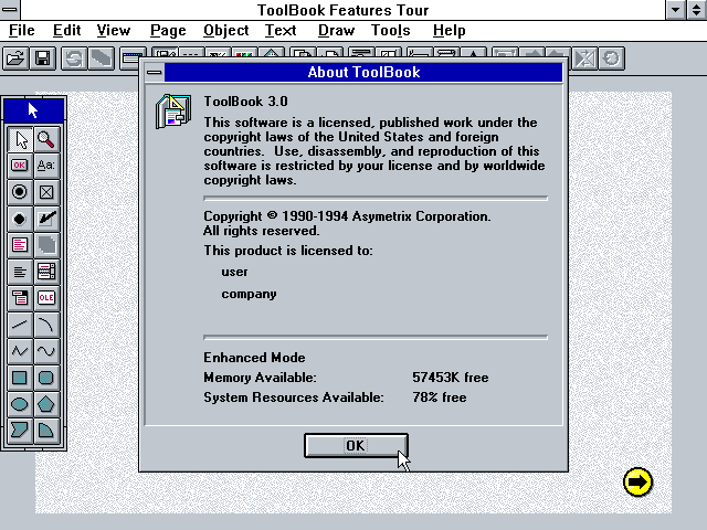 asymetrix toolbook runtime system