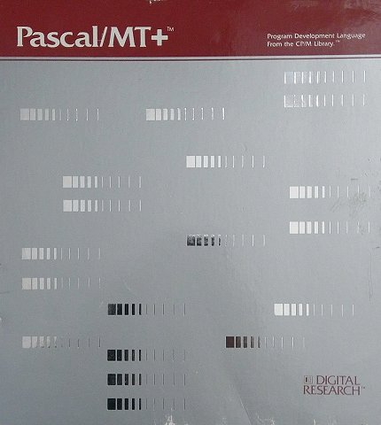 Pascal MT Plus for CPM - Box Front