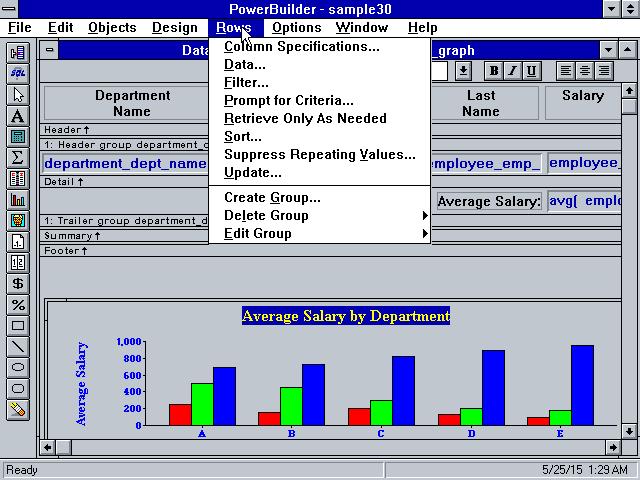 PowerBuilder 3x Stats Downloads and Screenshots WinWorld – Powerbuilder Programmer