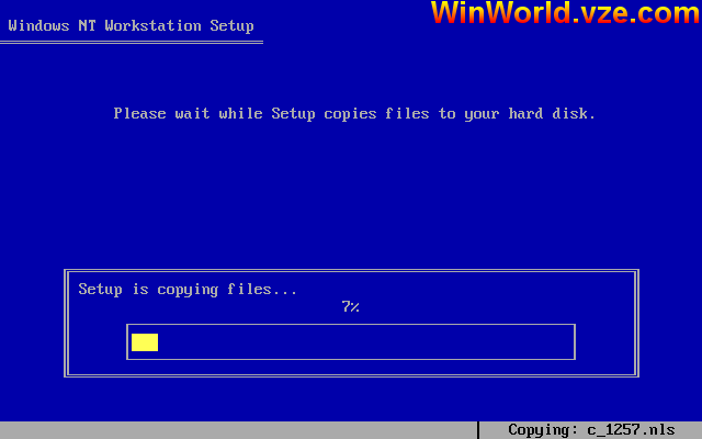 WinWorld: Windows NT 4 0 4 0