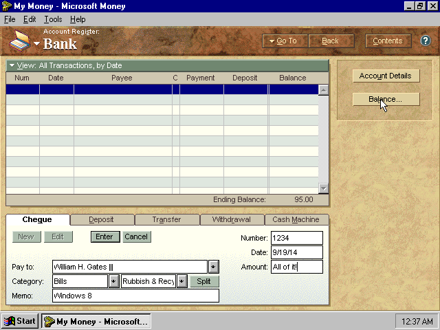 winworld microsoft money 4 edit