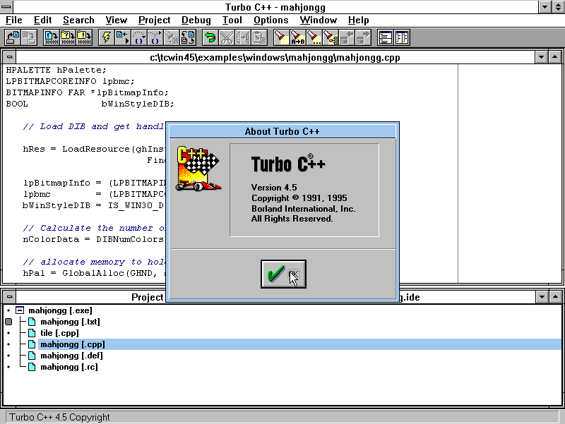 turbo c++ free download for windows xp
