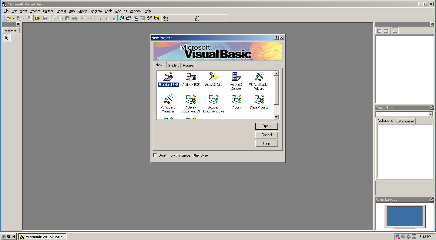 WinWorld Microsoft Visual Basic 60