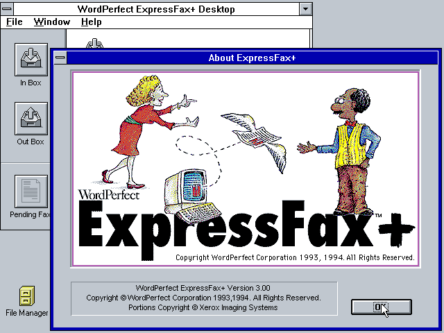 ExpressFax Plus 3.00 - About