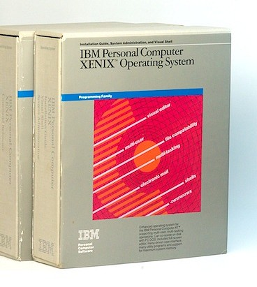 IBM Xenix 1.00 - Boxes