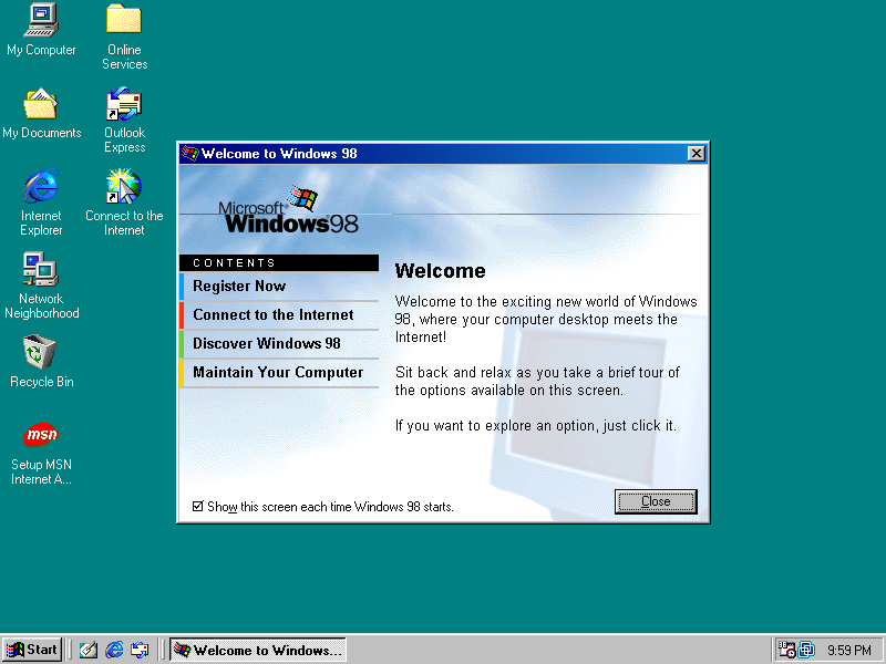 windows 98 second edition full bootable cd