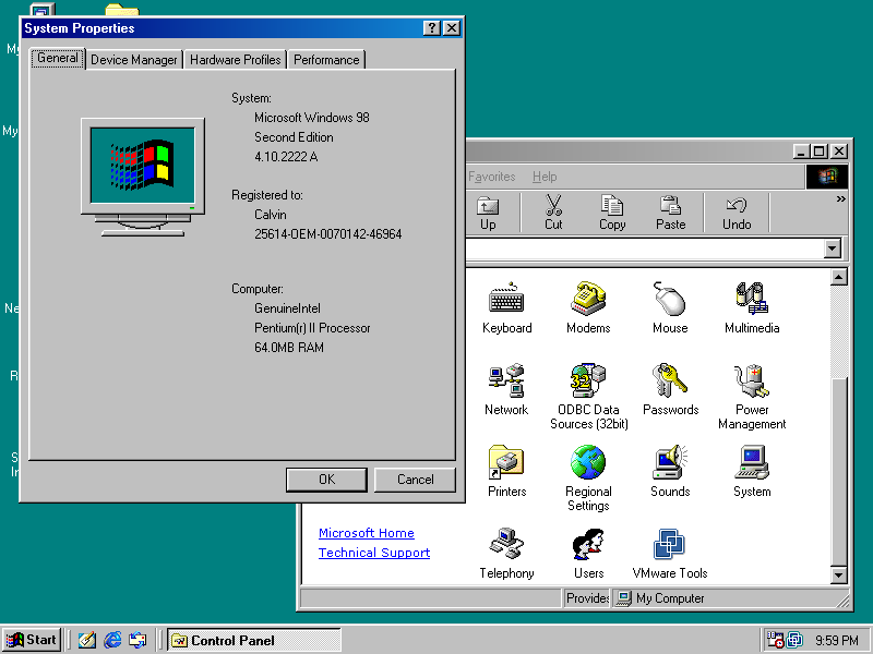 Windows 98 second edition portuguese br full bootable cd for Window 98 iso