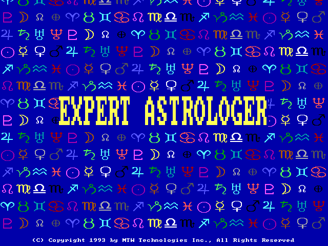 Expert Astrologer - Splash