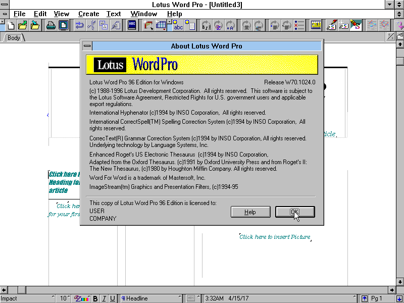 winworld lotus word pro 96 winworld lotus word pro 96