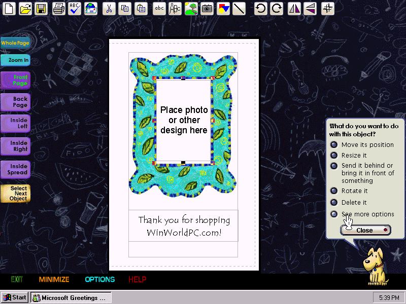 Winworld microsoft greetings workshop 20 edit microsoft greetings workshop 20 edit m4hsunfo