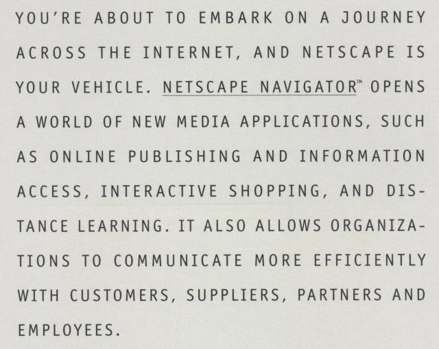 Netscape 1.0 - Manual
