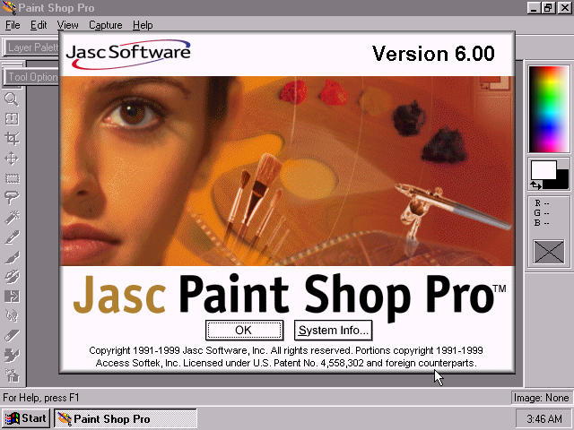 WinWorld: Paint Shop Pro 6.x