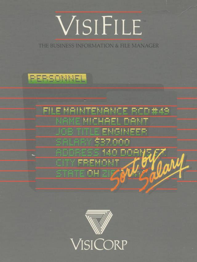 VisiFile - Box cover front