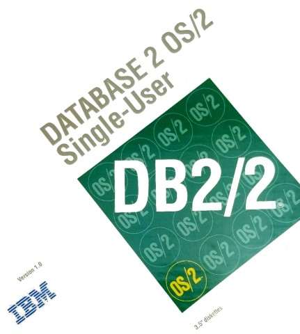 IBM Database 2 OS2 Single User - Box