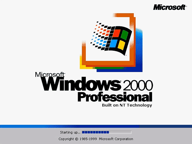 WinWorld: Windows 2000 Final