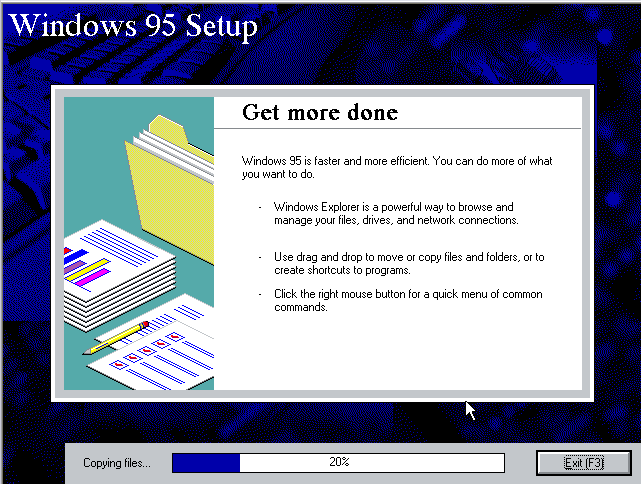 WinWorld: Windows 95 OSR 2