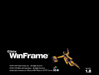 Citrix WinFrame 1.8 - Splash