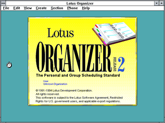 Lotus Organizer 2 X Stats Downloads And Screenshots