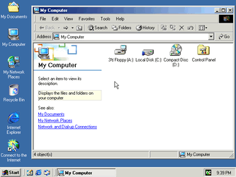 Windows Explorer - Windows 2000