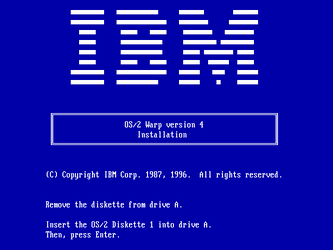 Boot disk startup